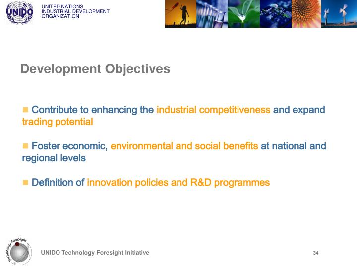 Development Objectives