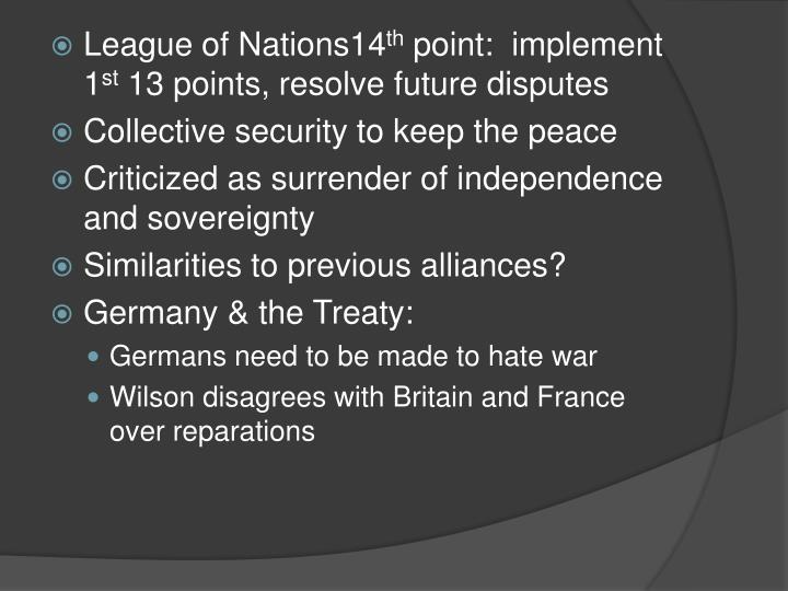 League of Nations14