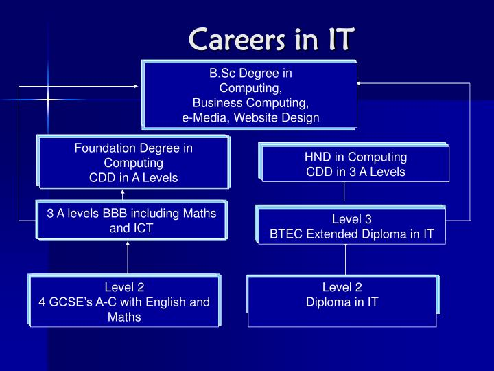 Careers in IT