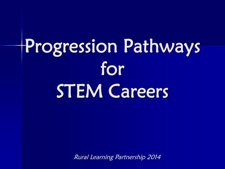 Progression Pathways