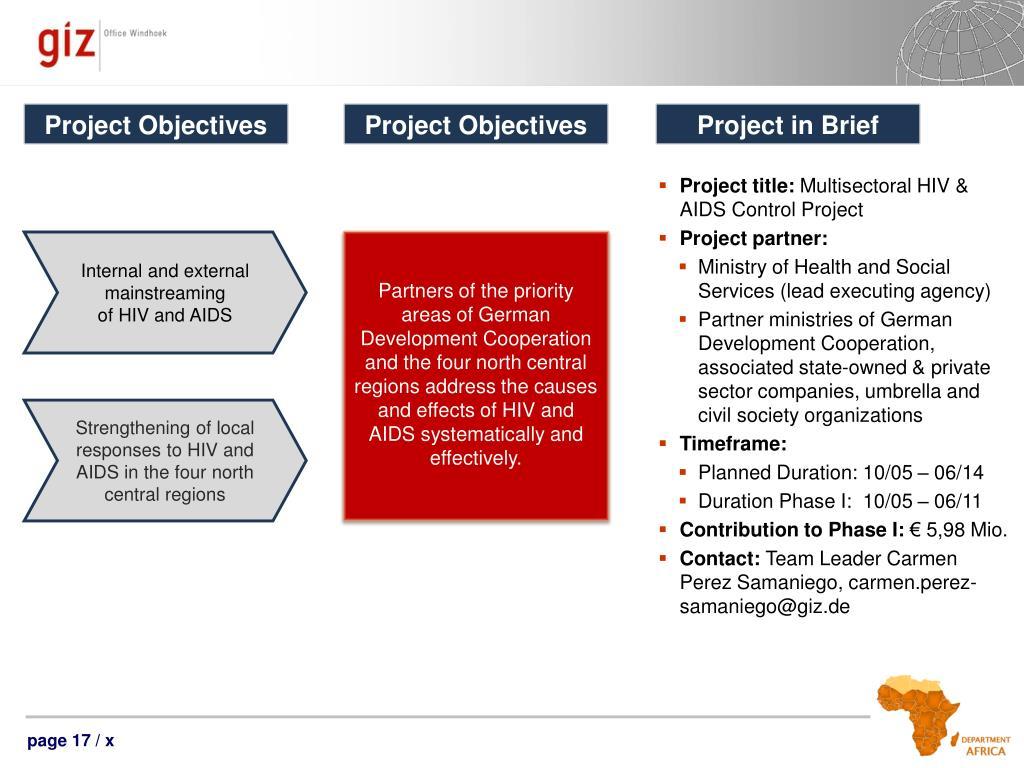 PPT - GIZ Namibia – Country Presentation PowerPoint