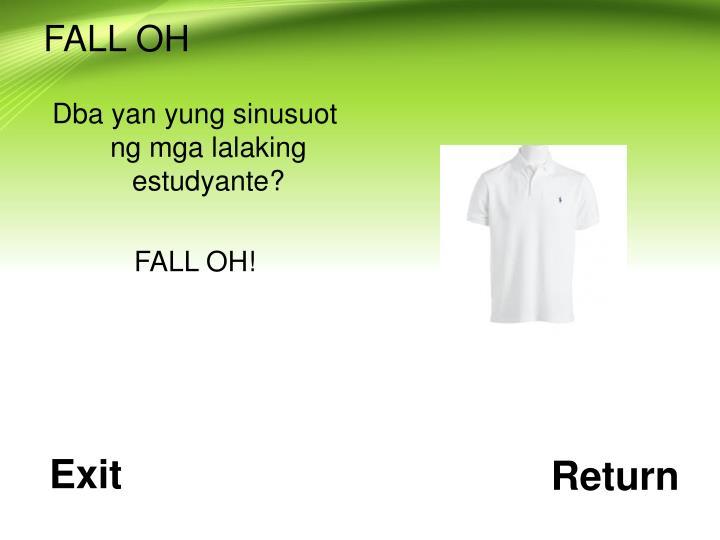 FALL OH