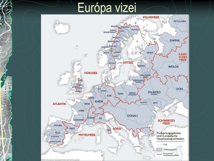 Európa vizei