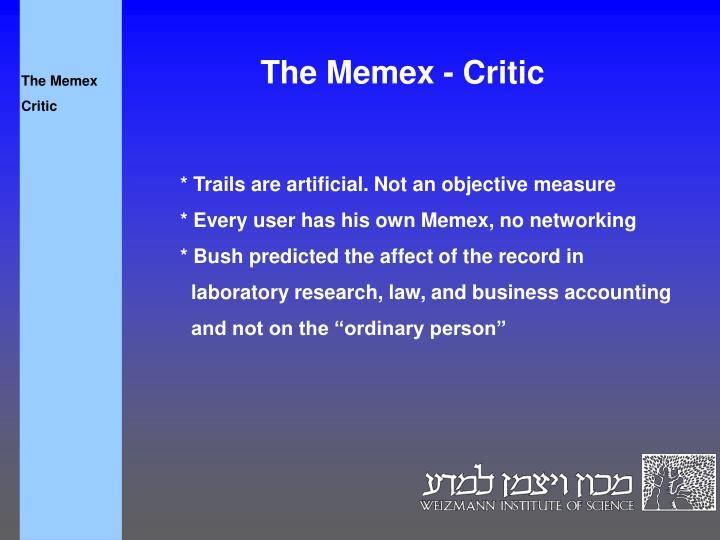 The Memex
