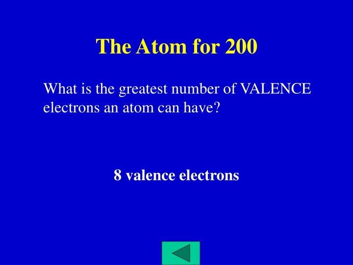 The Atom for 200