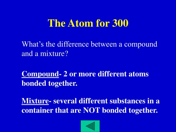 The Atom for 300