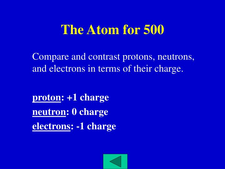 The Atom for 500