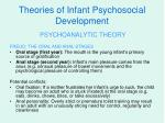 theories of infant psychosocial development