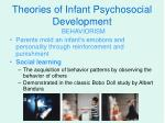 theories of infant psychosocial development2