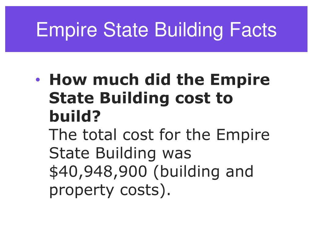 PPT - Empire State Building PowerPoint Presentation, free ...