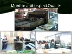 monitor and inspect quality2