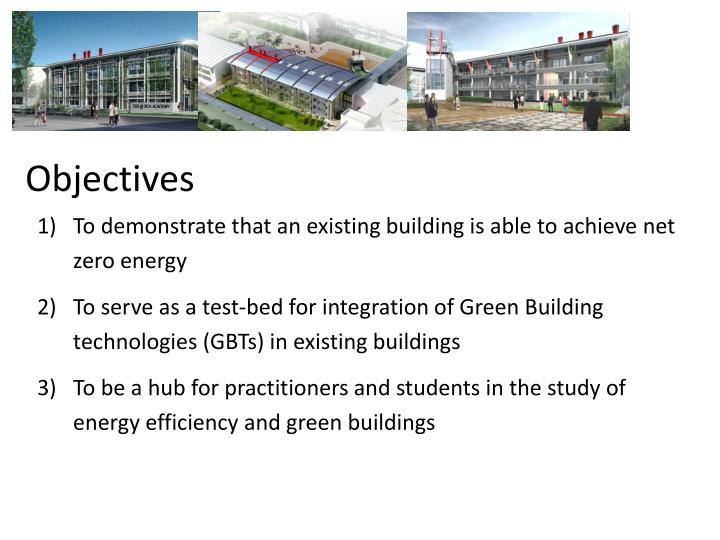 objectives of green building