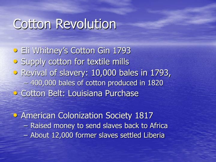 Cotton Revolution