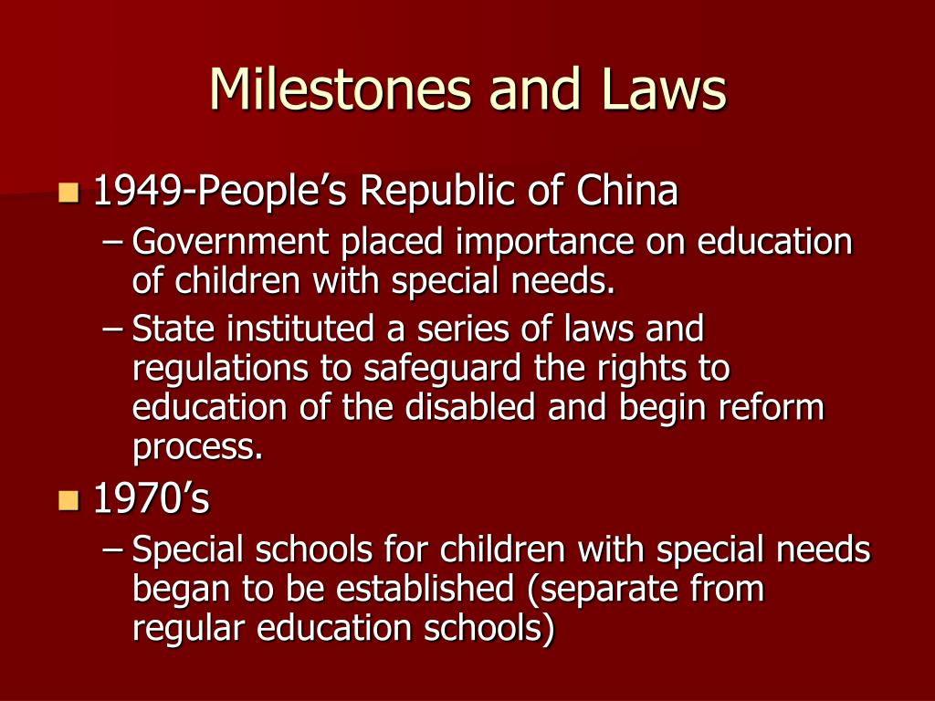 PPT - Special Education in China PowerPoint Presentation