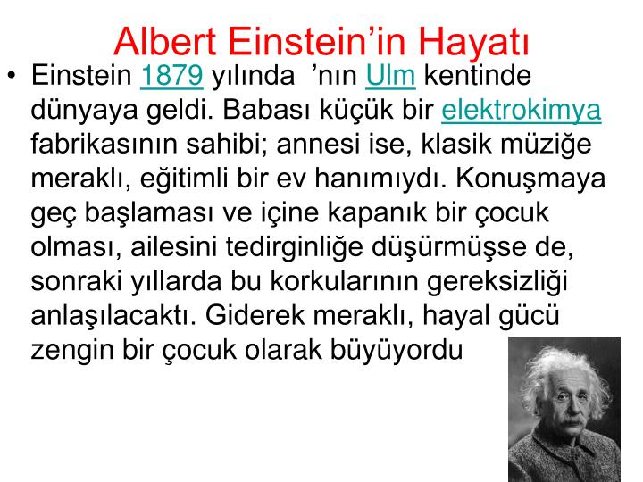 a description of albert einstein as a man of vision As a boy and adult, albert einstein was a creative, intelligent and soft-spoken person who preferred solitude and immersing himself into elaborate constructions and thought problems over social interactions he appeared aloof to many, but his concentration was in his work einstein always felt out.