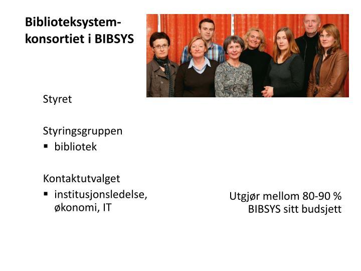 Biblioteksystem-konsortiet