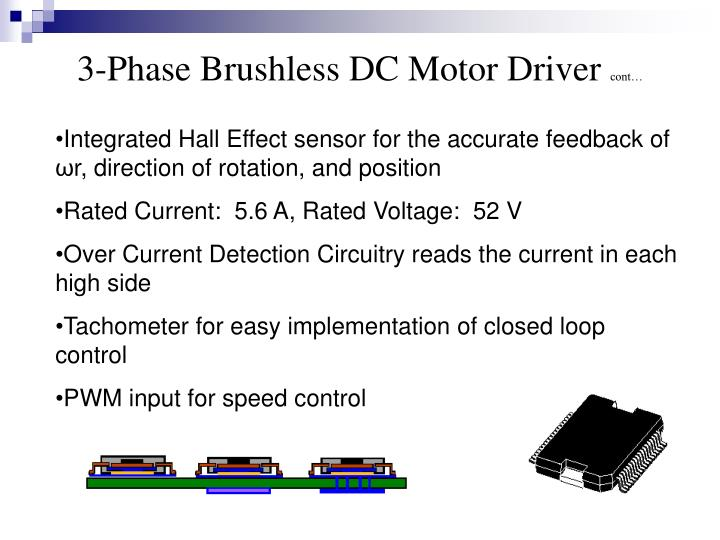3-Phase Brushless DC Motor Driver