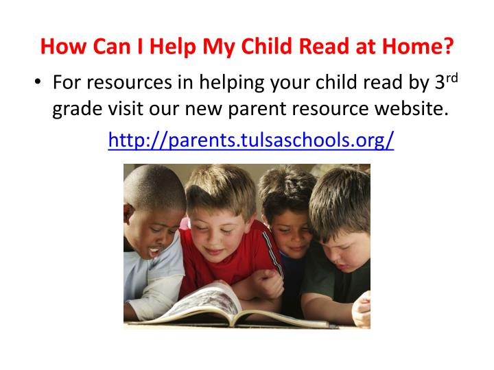 How Can I Help My Child Read at Home?