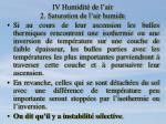 iv humidit de l air 2 saturation de l air humide10