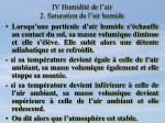 iv humidit de l air 2 saturation de l air humide5