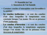 iv humidit de l air 2 saturation de l air humide6