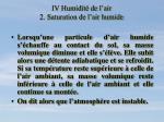 iv humidit de l air 2 saturation de l air humide8