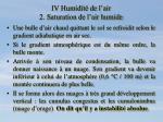 iv humidit de l air 2 saturation de l air humide9