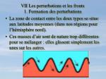 vii les perturbations et les fronts 1 formation des perturbations1