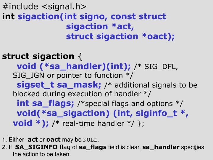 #include <signal.h>