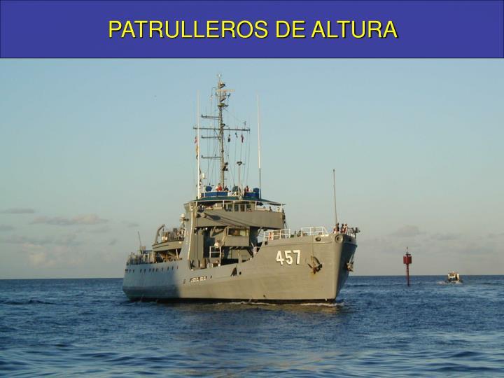 PATRULLEROS DE ALTURA