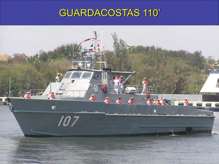 GUARDACOSTAS 110'
