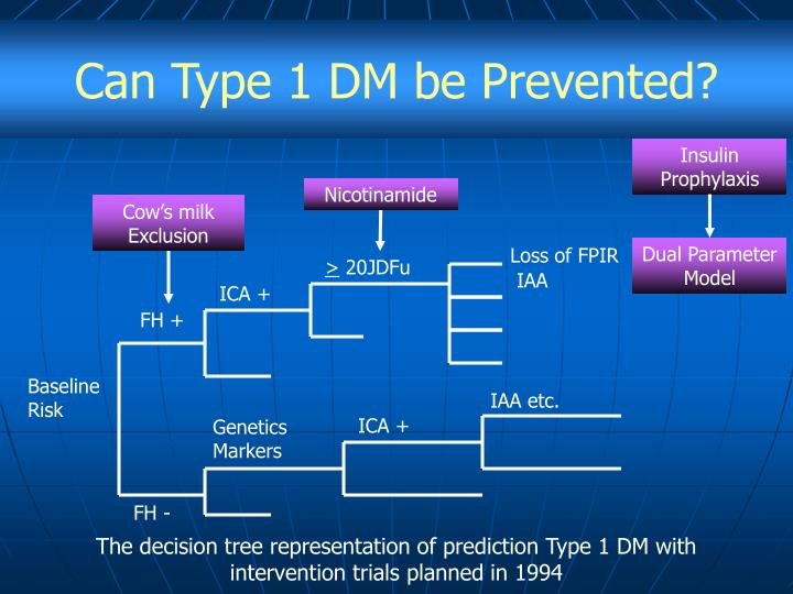 Can Type 1 DM be Prevented?