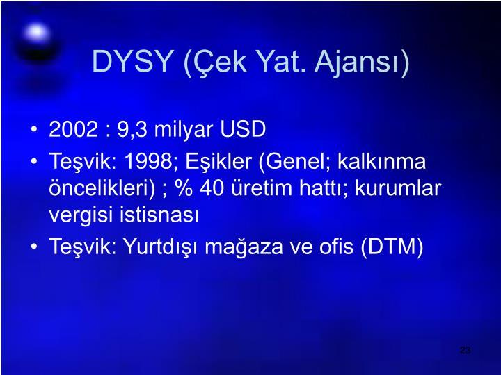 DYSY (Çek Yat. Ajansı)