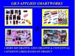 gr 9 applied smartworks