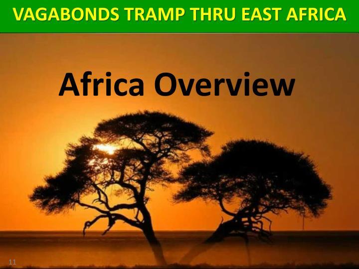 VAGABONDS TRAMP THRU EAST AFRICA