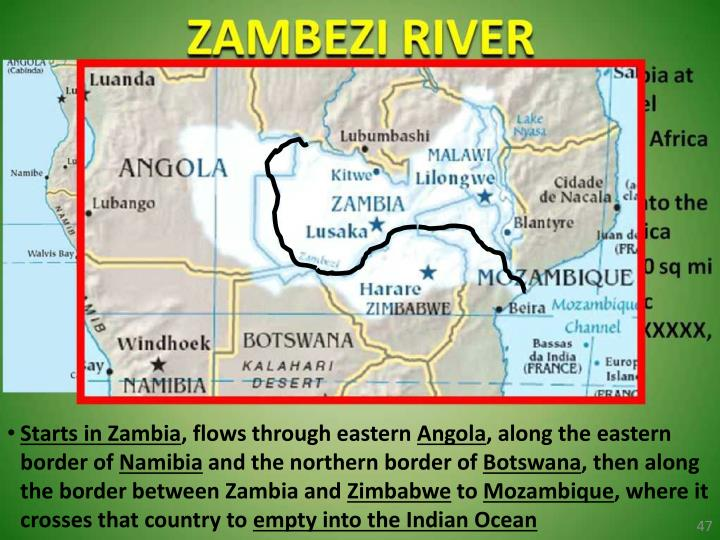 Starts in Zambia