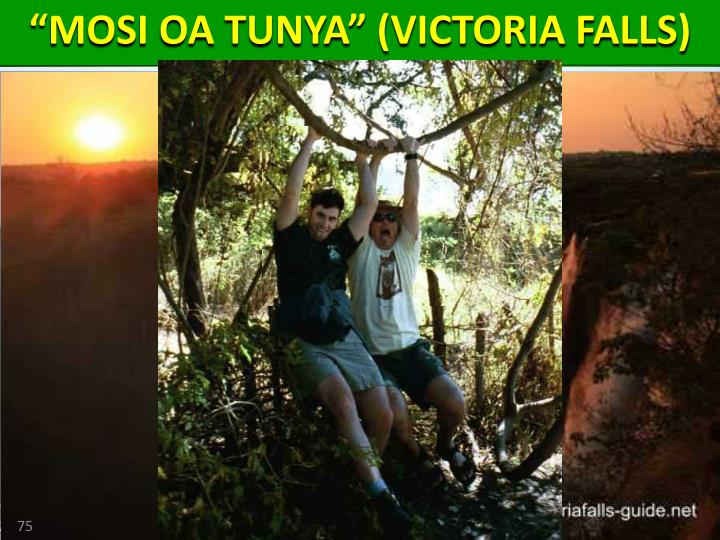 """MOSI OA TUNYA"" (VICTORIA FALLS)"