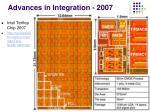 advances in integration 2007