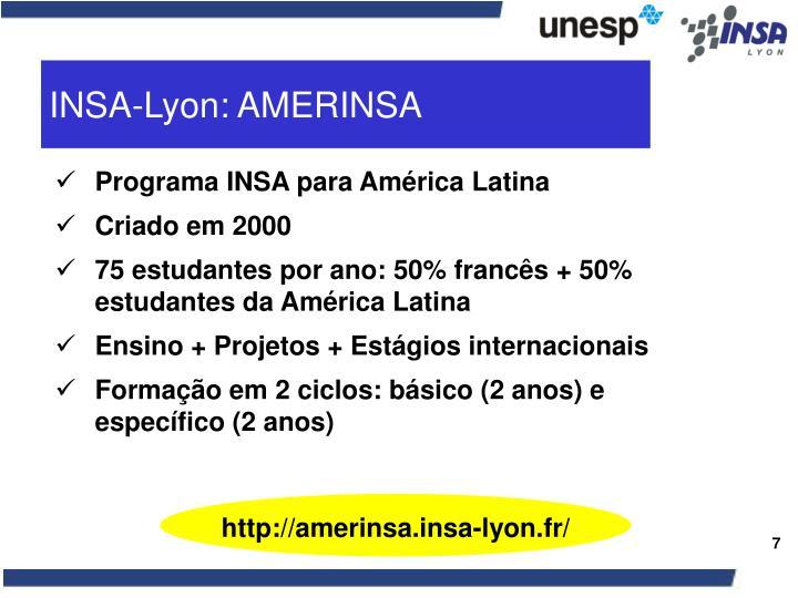 INSA-Lyon: AMERINSA