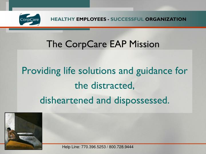 The corpcare eap mission