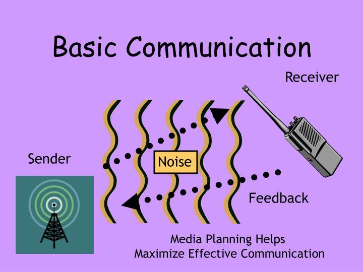 Basic Communication