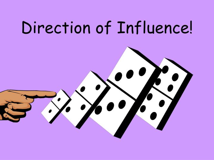 Direction of Influence!