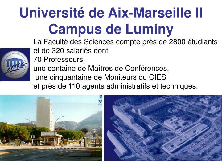 Université de Aix-Marseille II