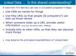 linked data is this shared understanding
