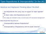 open repositories interoperability in the uk