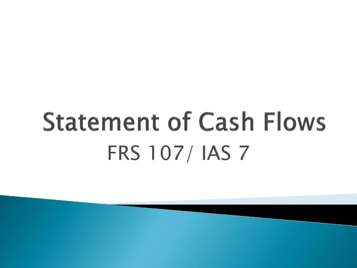 statement of cash flows n.