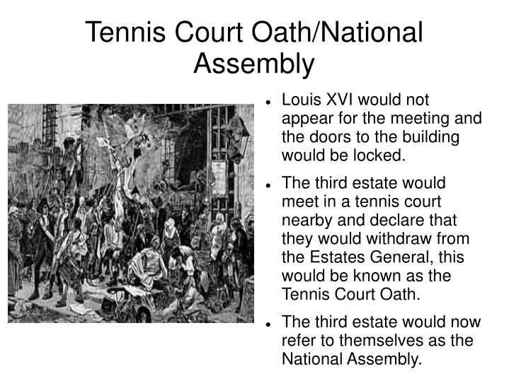 Tennis Court Oath/National Assembly