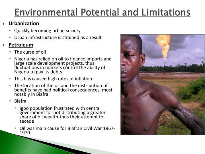 Environmental Potential and Limitations