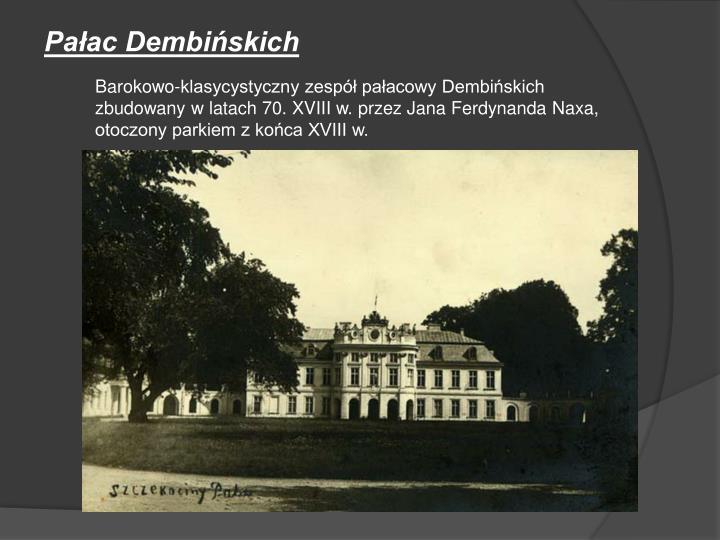 Pałac Dembińskich