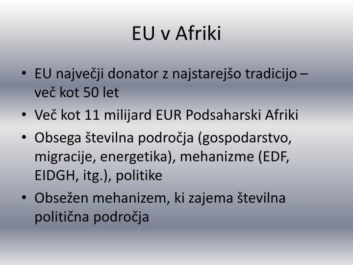 EU v Afriki